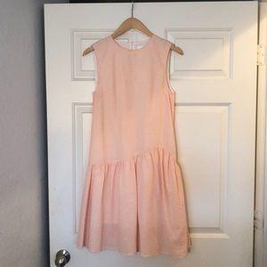 H & M Gingham Drop Waist Dress